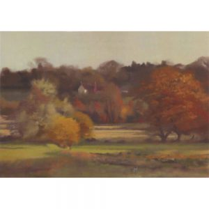 Autumn Evening at Wardour Greeting Card