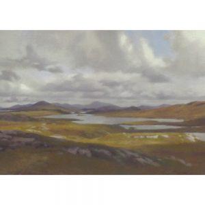 Loch Faoghaill Greeting Card