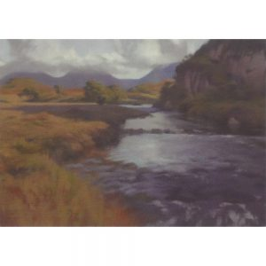 River Osgaig Greeting Card